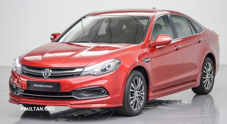 2016 Proton Perdana front three quarter launched in Malaysia