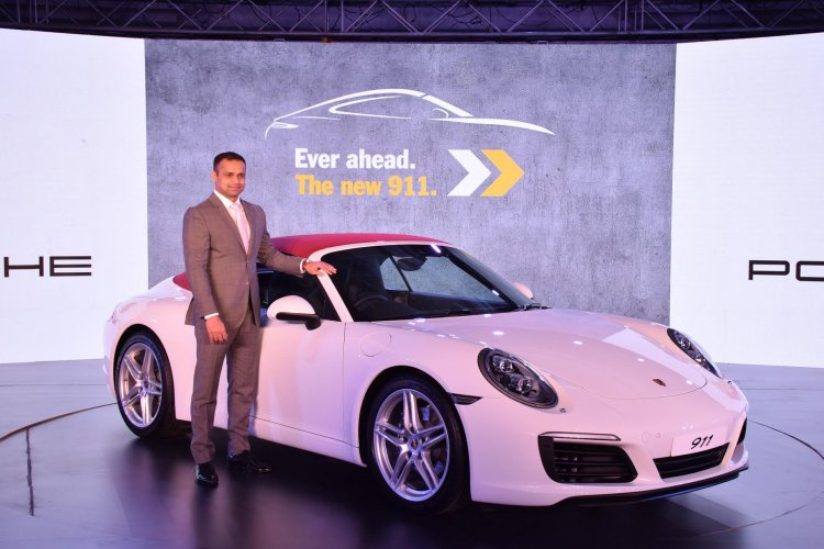 2017 Porsche 911 Carrera Cabriolet launch in India