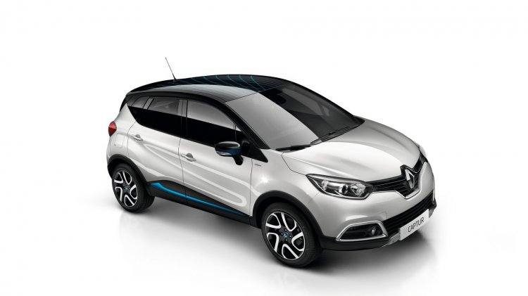 Limited edition Renault Captur Wave side launched in France