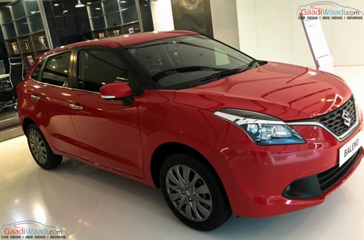 Maruti Baleno front get new alloy wheel color in India