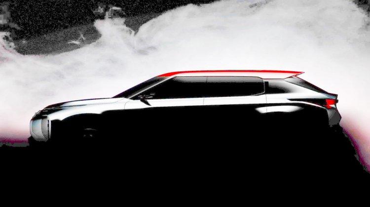 Mitsubishi Grand Tourer SUV teased for Paris Motor Show