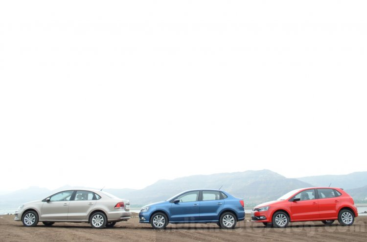 VW Ameo vs VW Vento vs VW Polo