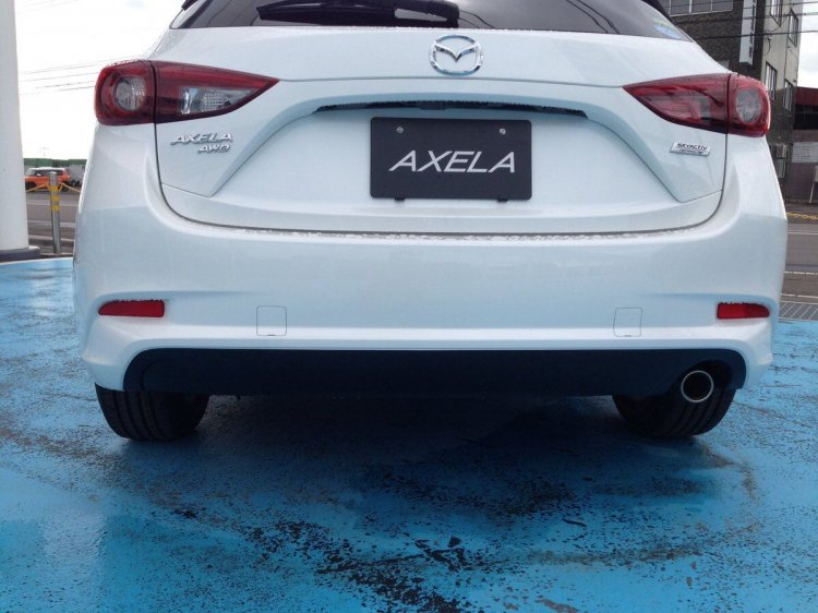 2016 Mazda Axela (Mazda3) rear spy shot