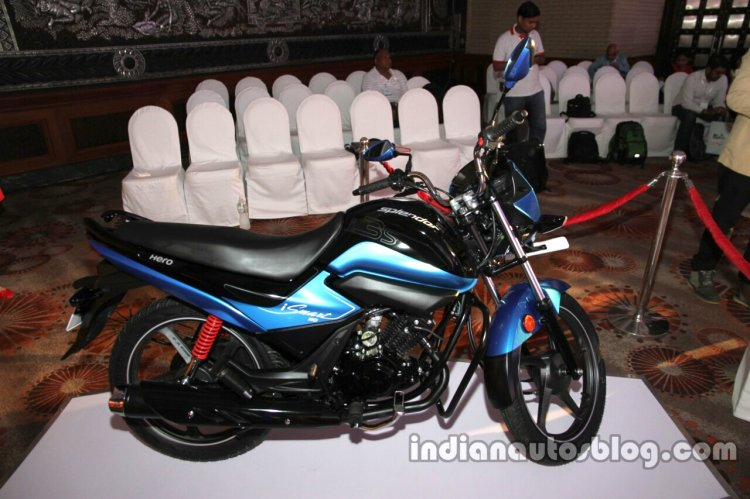 Hero Splendor iSmart 110 side angle launch