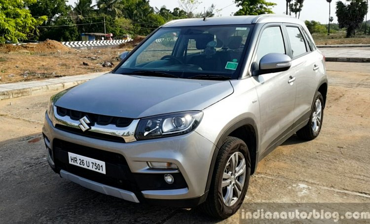 Maruti Vitara Brezza front quarter full review