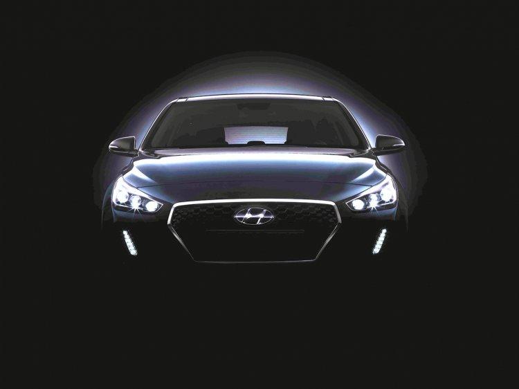 2017 Hyundai i30 teased
