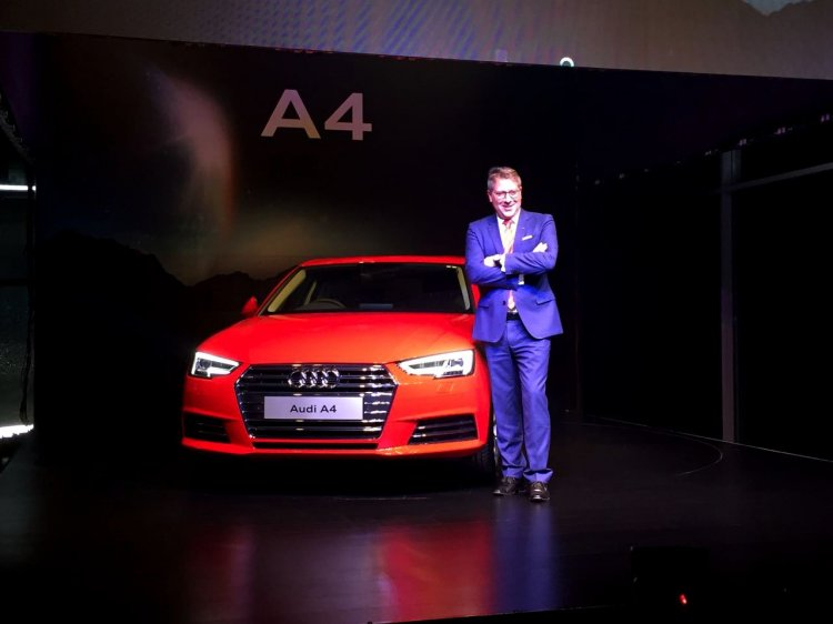 2016 Audi A4 30 TFSI launched