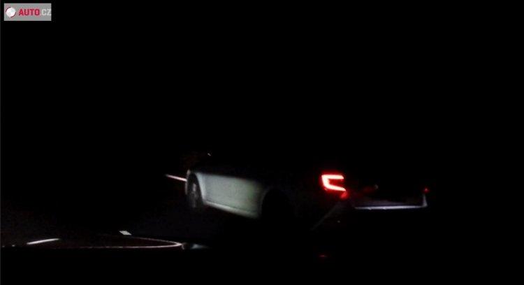 2017 Skoda Octavia (facelift) rear spied