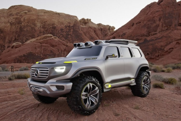 Mercedes-Benz Vision Ener-G-Force concept front three quarters left side