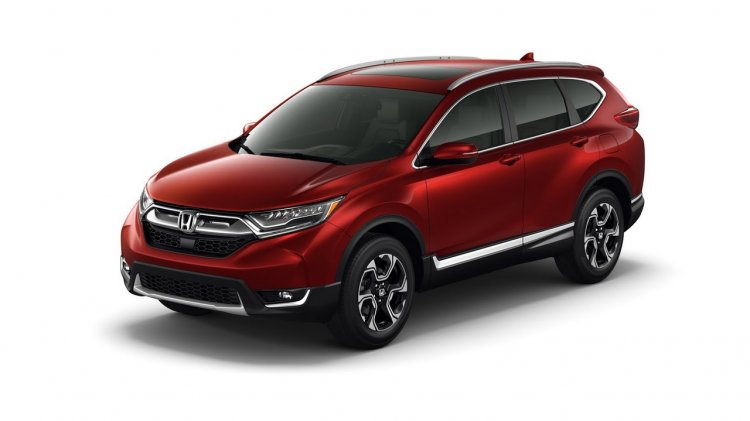 2017 Honda CR-V front three quarters right side