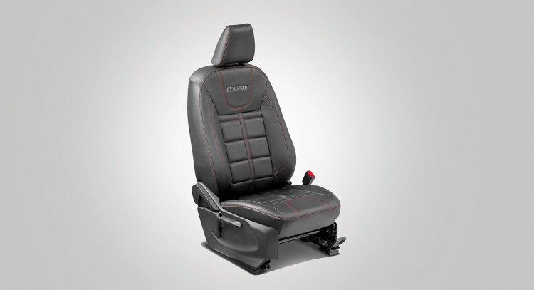 Ford EcoSport Black Signature Edition black vinyl seat covers