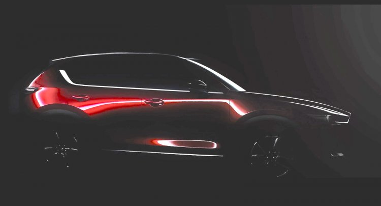 Mazda CX-5 side view teaser 2018