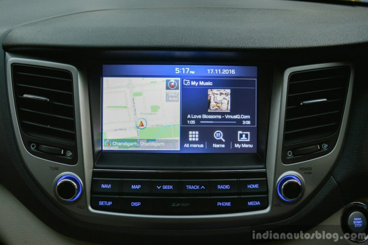 2016 Hyundai Tucson touchscreen Review