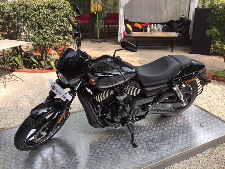 2017 Harley-Davidson Street 750 India launch