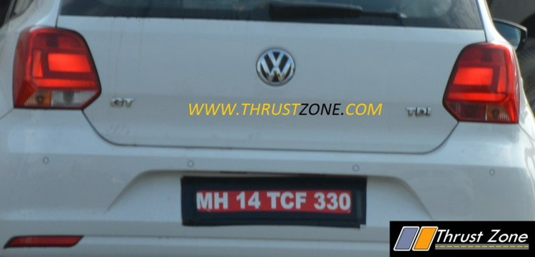 2017 VW Polo GT TDI badges spied