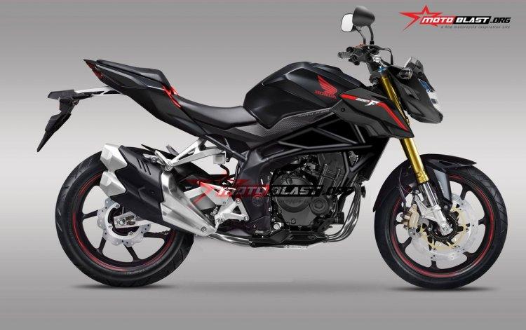 Honda CBR 250RR naked rendering