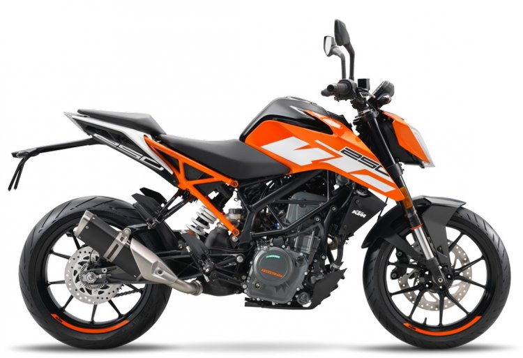 KTM 250 Duke side official image