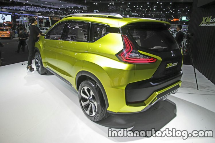 Mitsubishi XM Concept rear three quarter at the Thai Motor Expo