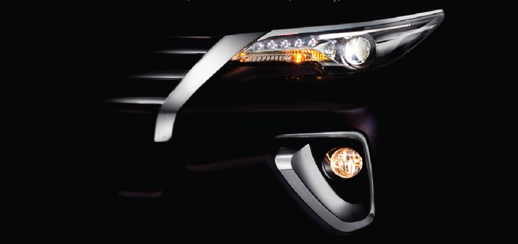 Toyota Fortuner India launch teaser 2016