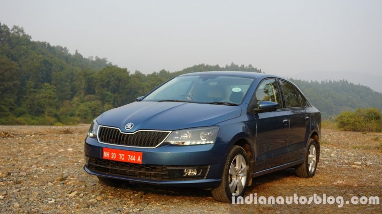 2016 Skoda Rapid front three quarters review