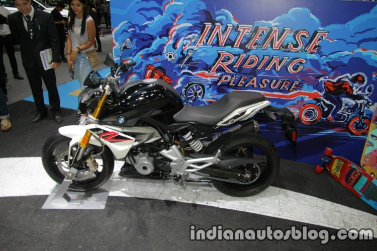BMW G310R side at Thai Motor Show