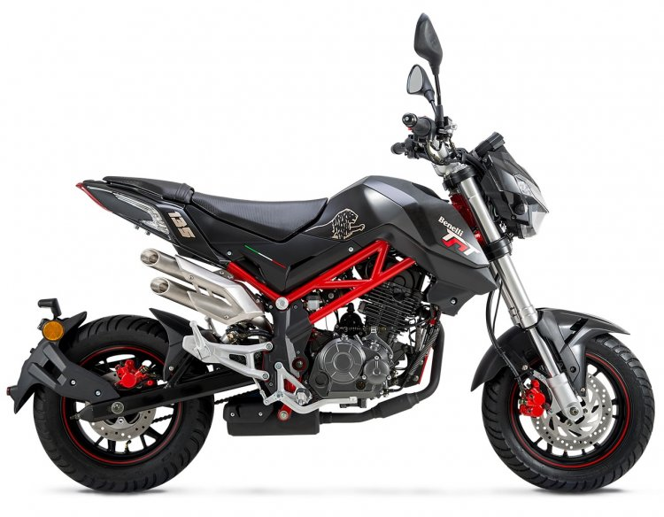 Benelli TNT135 black studio
