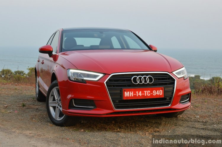 2017 Audi A3 sedan (facelift) front quarter First Drive Review