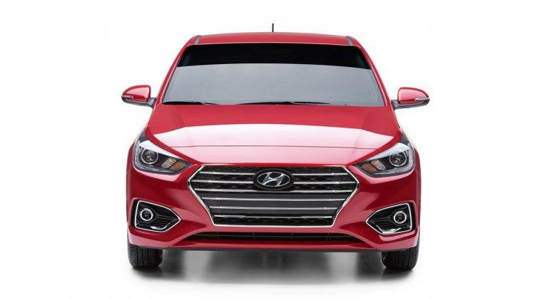 2018 Hyundai Accent (Hyundai Verna) front