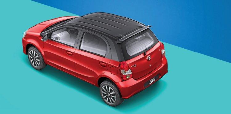 Dual tone Toyota Etios Liva rear launched
