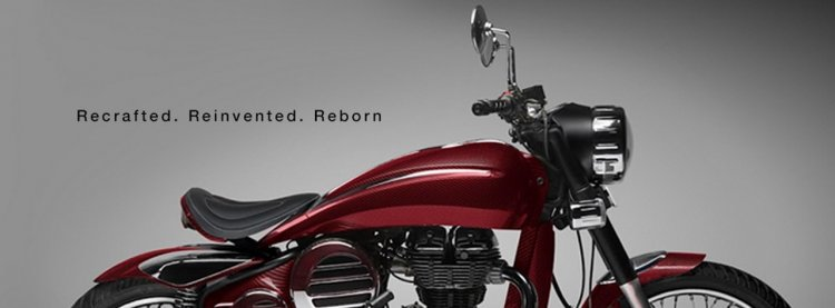 Royal Enfield DC2 Carbon Shot Cardinal Red