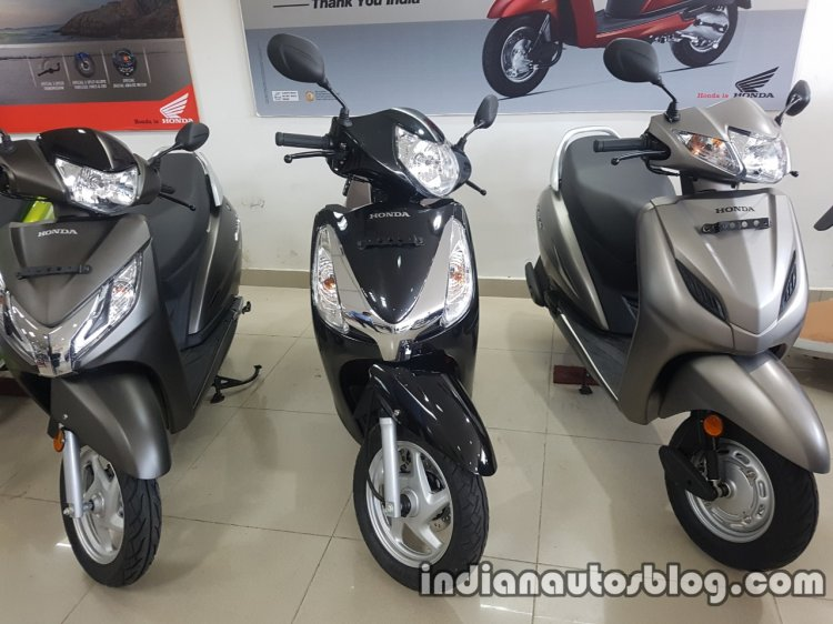 2017 Honda Aviator BSIV reaches dealership front