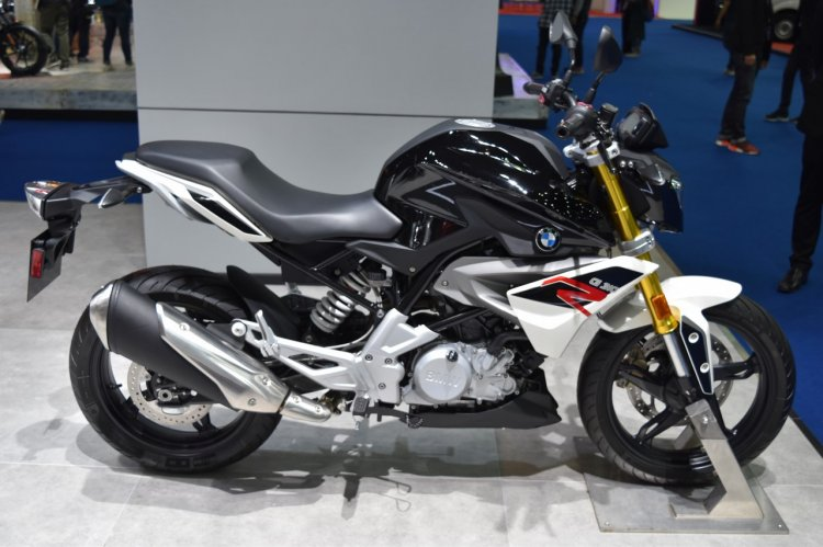 BMW G310R at BIMS 2017 side right