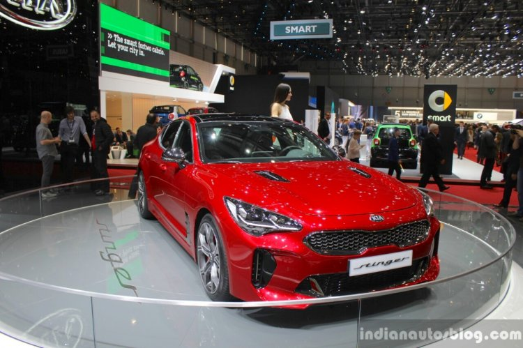 Kia Stinger launch in Europe in October 2017