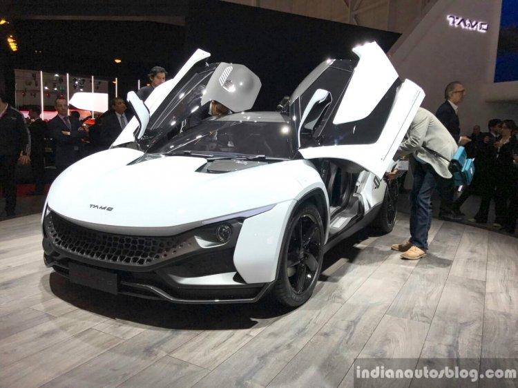 Tamo Racemo front quarter 2017 Geneva Motor Show