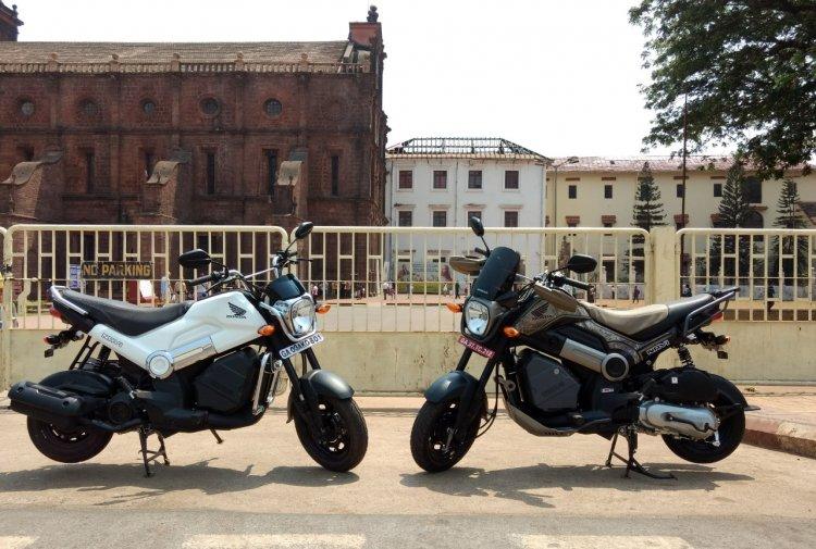 Honda Navi Goa Hunt cover