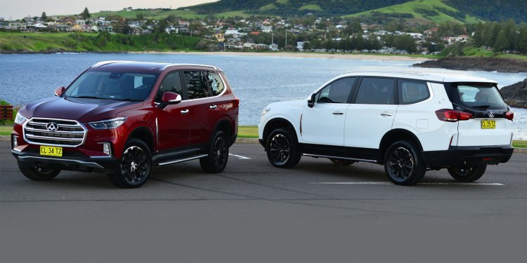 LDV D90 (Toyota Fortuner rival) front and rear unveiled