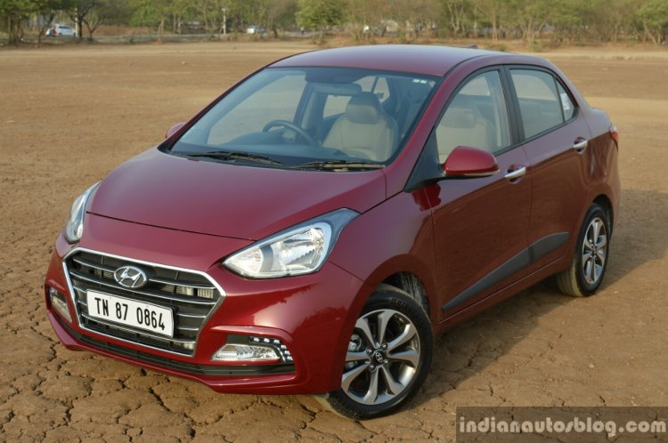 2017 Hyundai Xcent 1.2 Diesel (facelift) headlamp grille bumper review