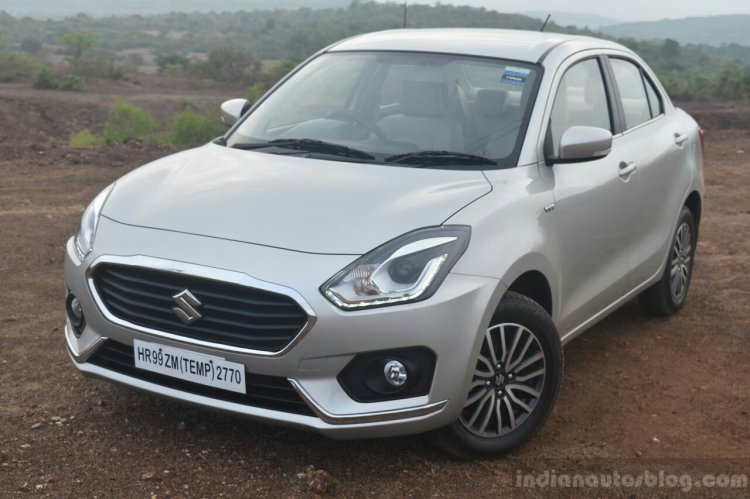 2017 Maruti Dzire front quarter First Drive Review
