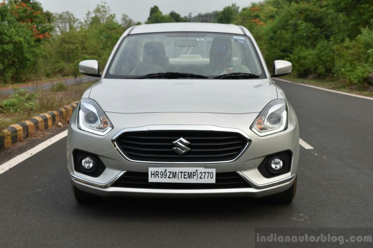 2017 Maruti Dzire front road First Drive Review