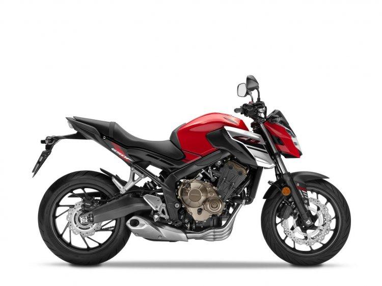 2018 Honda CB650F side studio