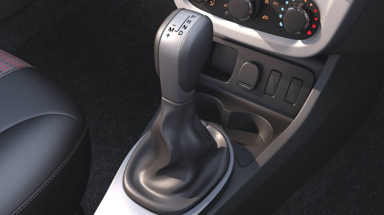 Renault Duster Petrol CVT gear selector launched