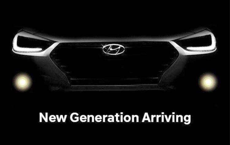 2017 Hyundai Verna teaser surfaces