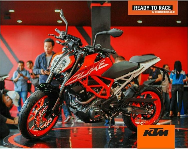 2017 KTM Duke 390 launched in Indonesia