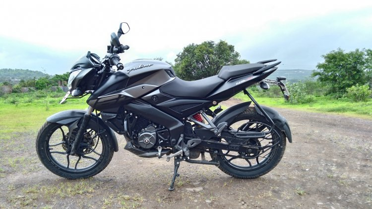 Bajaj Pulsar NS 160 Left Side view