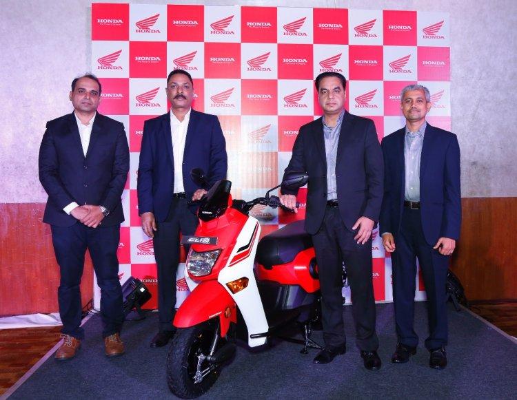 Honda Cliq at Pune Maharashtra cover