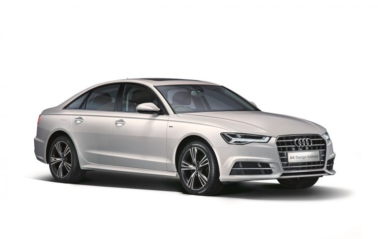 Audi A6 Design Edition front three quarters