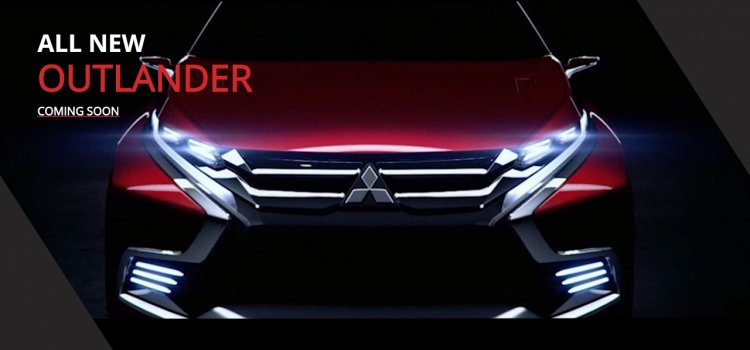 Mitsubishi Outlander India launch teaser