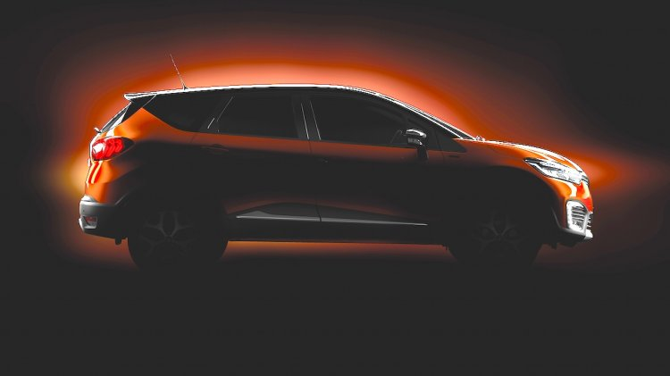 Renault Captur teaser for India official