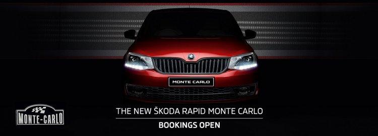 Skoda Rapid Monte Carlo bookings banner