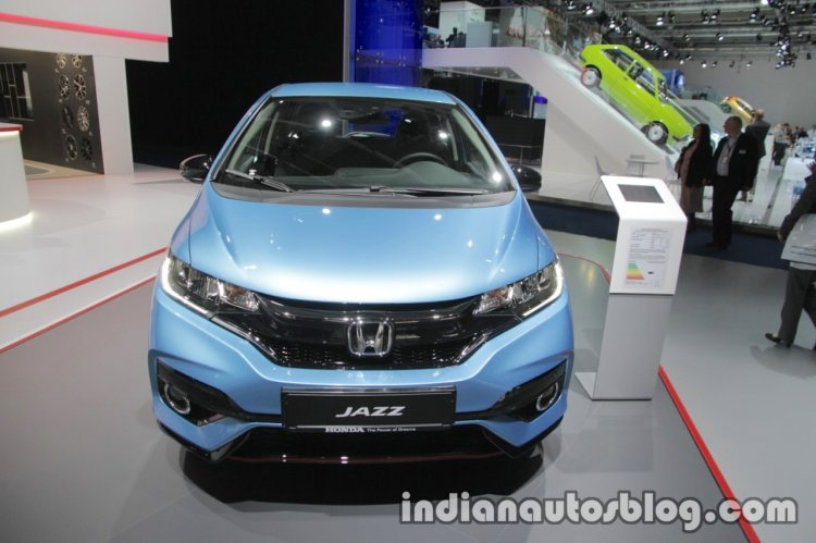 2017 Honda Jazz (facelift) front at the IAA 2017